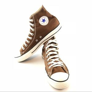 Converse All Star Brown Size 10 High Top Shoes